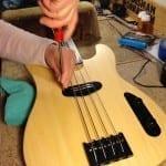 Bass final assembly