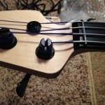 Bass nut detail