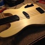 Obeche Fretless Bass